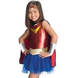 kids girls wonder woman halloween costume dress set