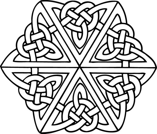 celtic | Celtic Knots | Pinterest | Mandala para colorear, Colorear ...