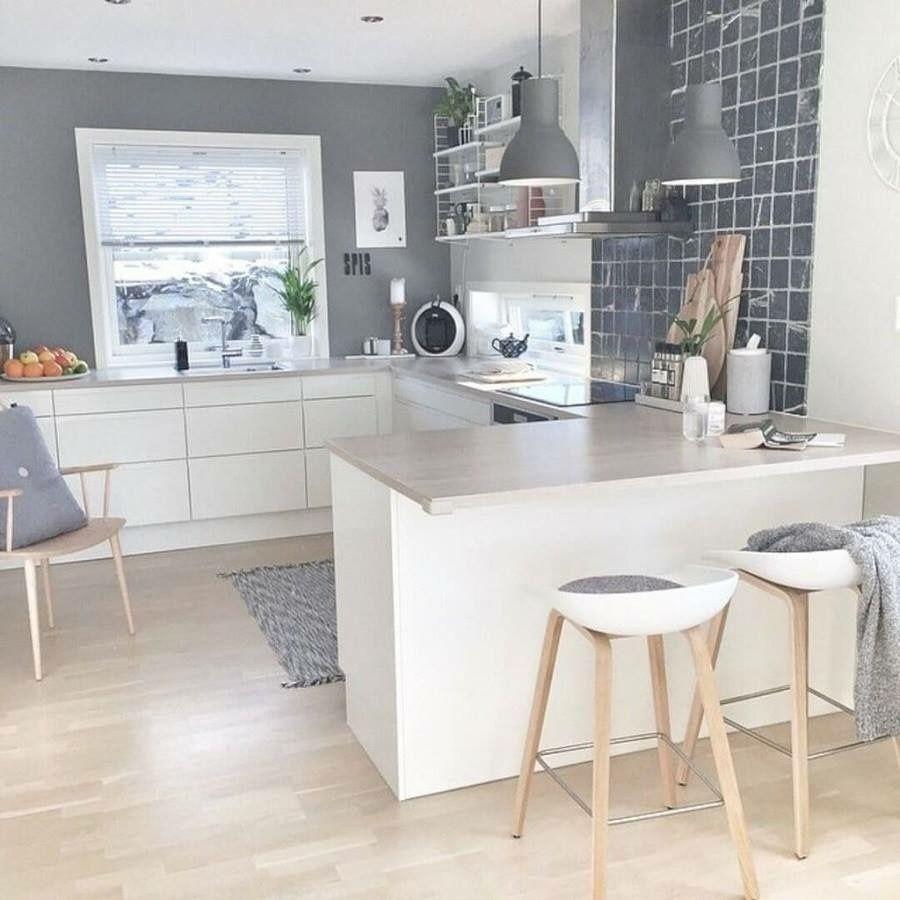 30 Layouts Perfect For Your Tiny Kitchen Kitchenmats Barabatu Furnitur Rak Skandinavia Kayu Jati Dekorasi Rumah Kafe Kitchendecorideas Kitchengadgets Kitchenset