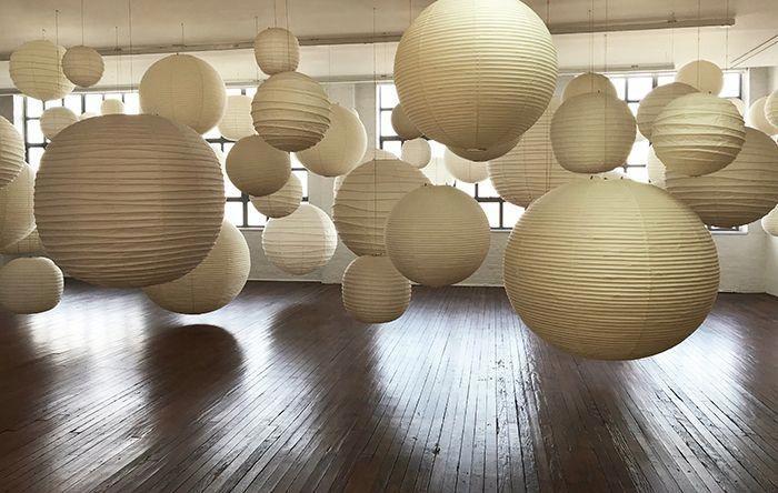 Le Noguchi Museum Celebre La Lampe Akari Isamu Noguchi Akari A D