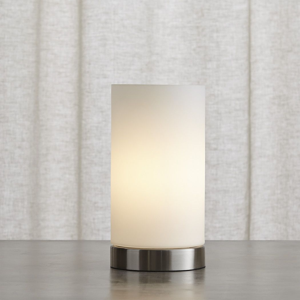 Shop glow cylinder table lamp minimal modern uplighting opal glass shop glow cylinder table lamp minimal modern uplighting opal glass cylinder shade in a mozeypictures Gallery