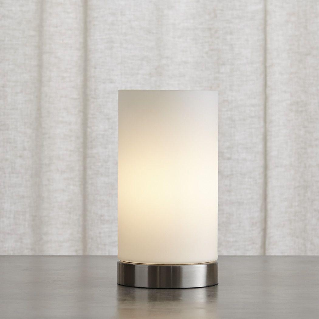 Shop Glow Cylinder Table Lamp Minimal Modern Uplighting Opal