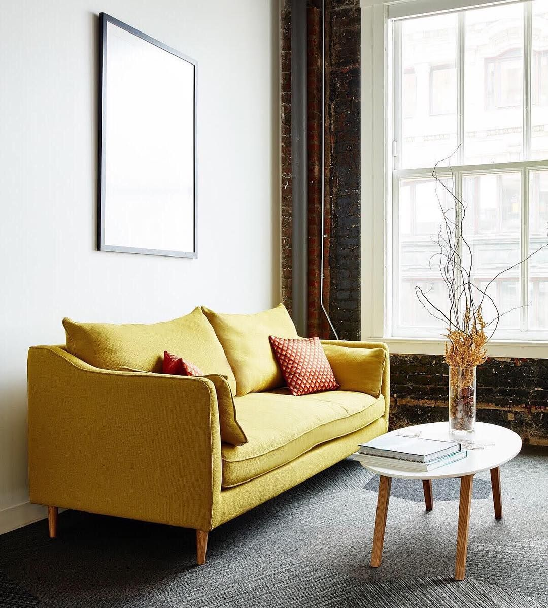 Caitlin By The Every Custom Sofa Interior Define Clean Houston Apartment