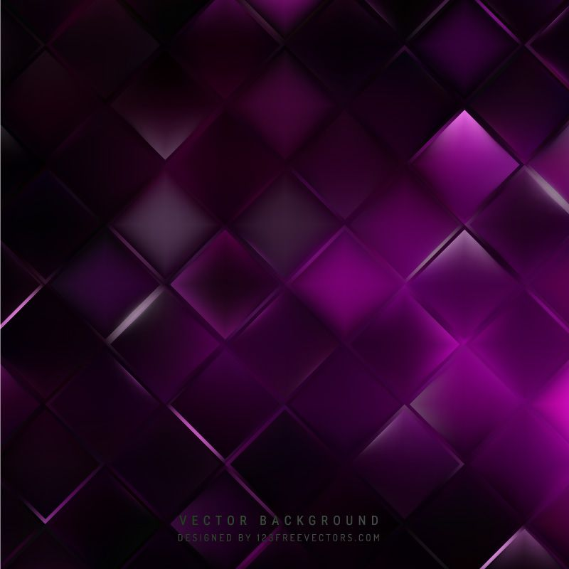 Purple Black Square Background Template In 2020 Background