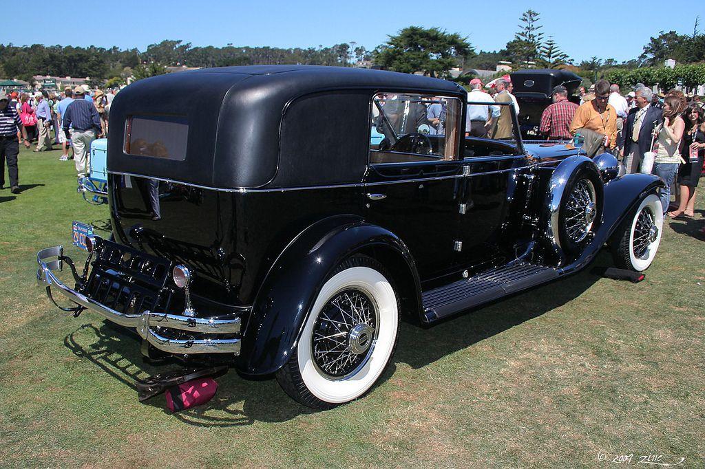 1930 Cord L29 Murphy Town Car rvr Car, Cord