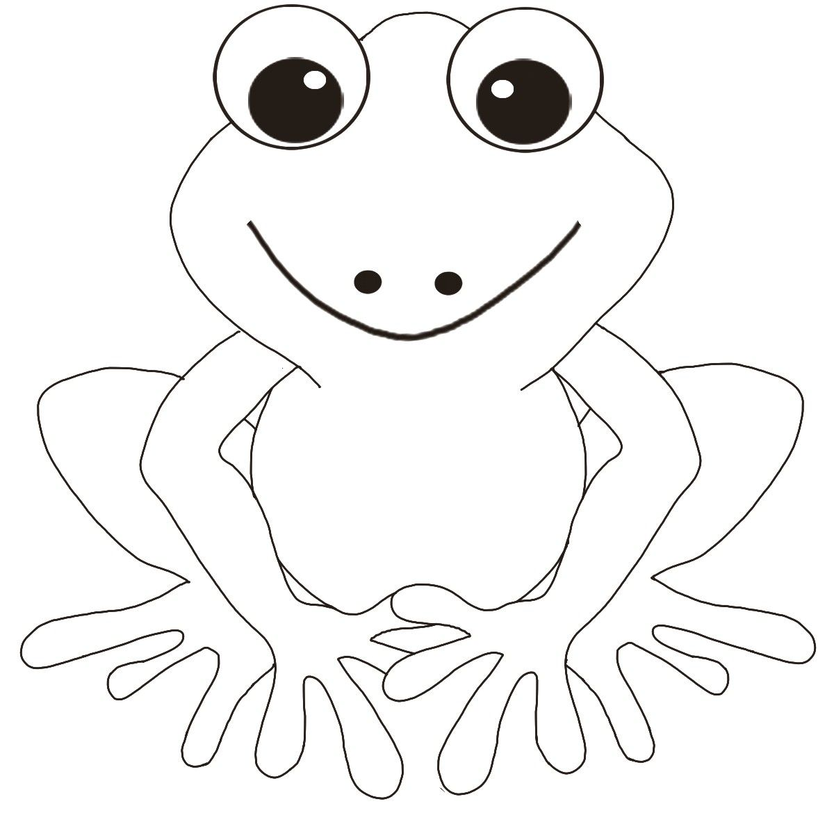 frog template | Lily Flower | Froggie | Pinterest | Frog template ...