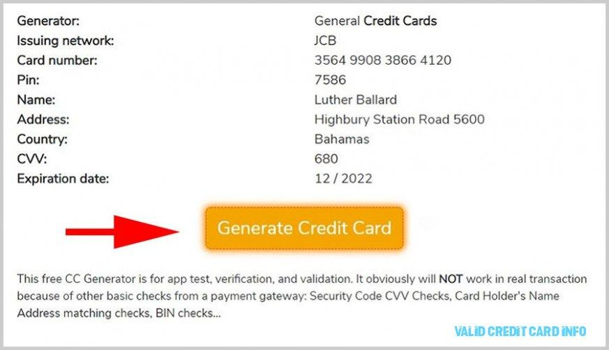 The Reason Why Everyone Love Valid Credit Card Info valid credit