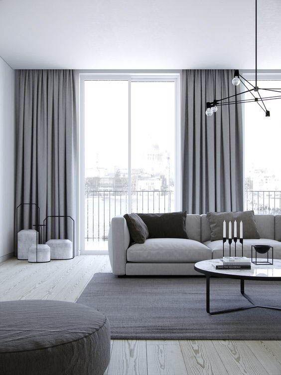 Pin By Julija Slepikaitė On Smile Living Room Decor Curtains Curtains Living Room Minimalism Interior