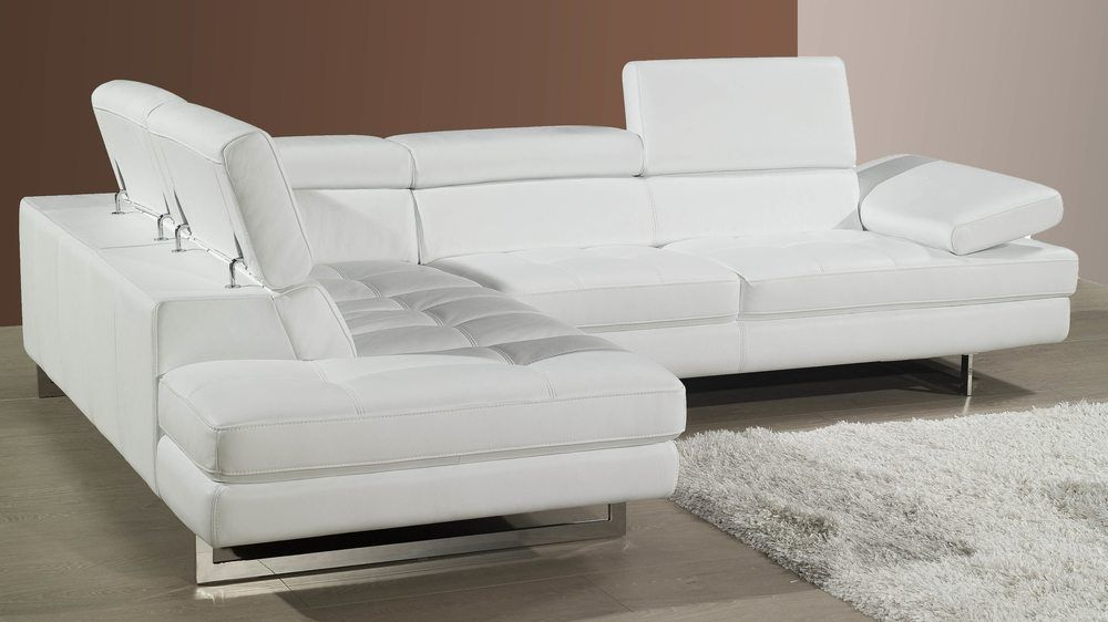 White Leather Corner Sofas Uk In 2020 Leather Corner Sofa White Leather Sofas White Corner Sofas