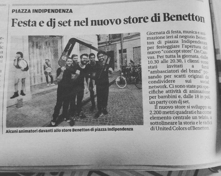 Benetton store party - Treviso