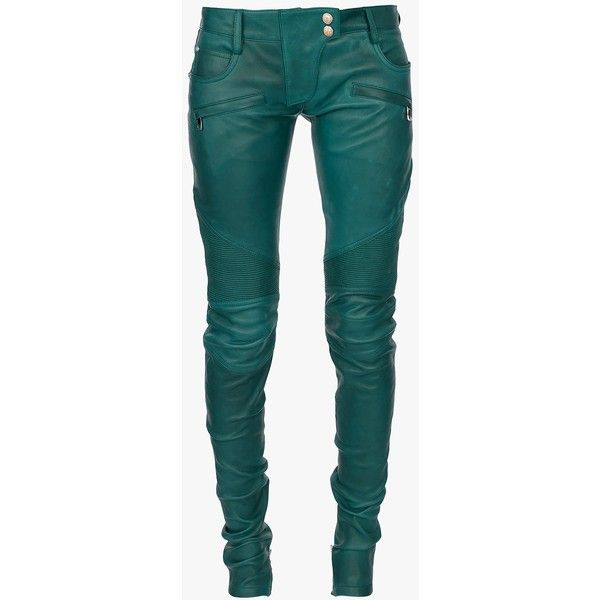 running shoes best shoes great prices Balmain Stretch leather biker pants ($2,700) ❤ liked on ...