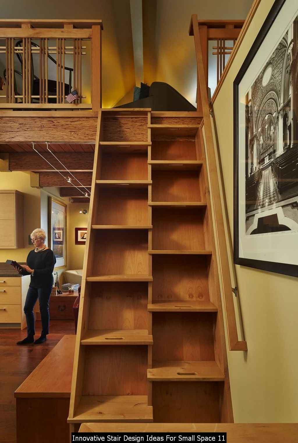 30+ Innovative Stair Design Ideas For Small Space in 2020 ...