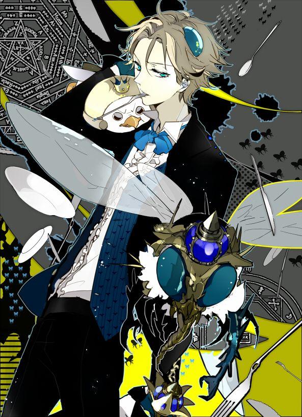 Yondemasu Yo, Azazelsan Beelzebub Anime Anime guys