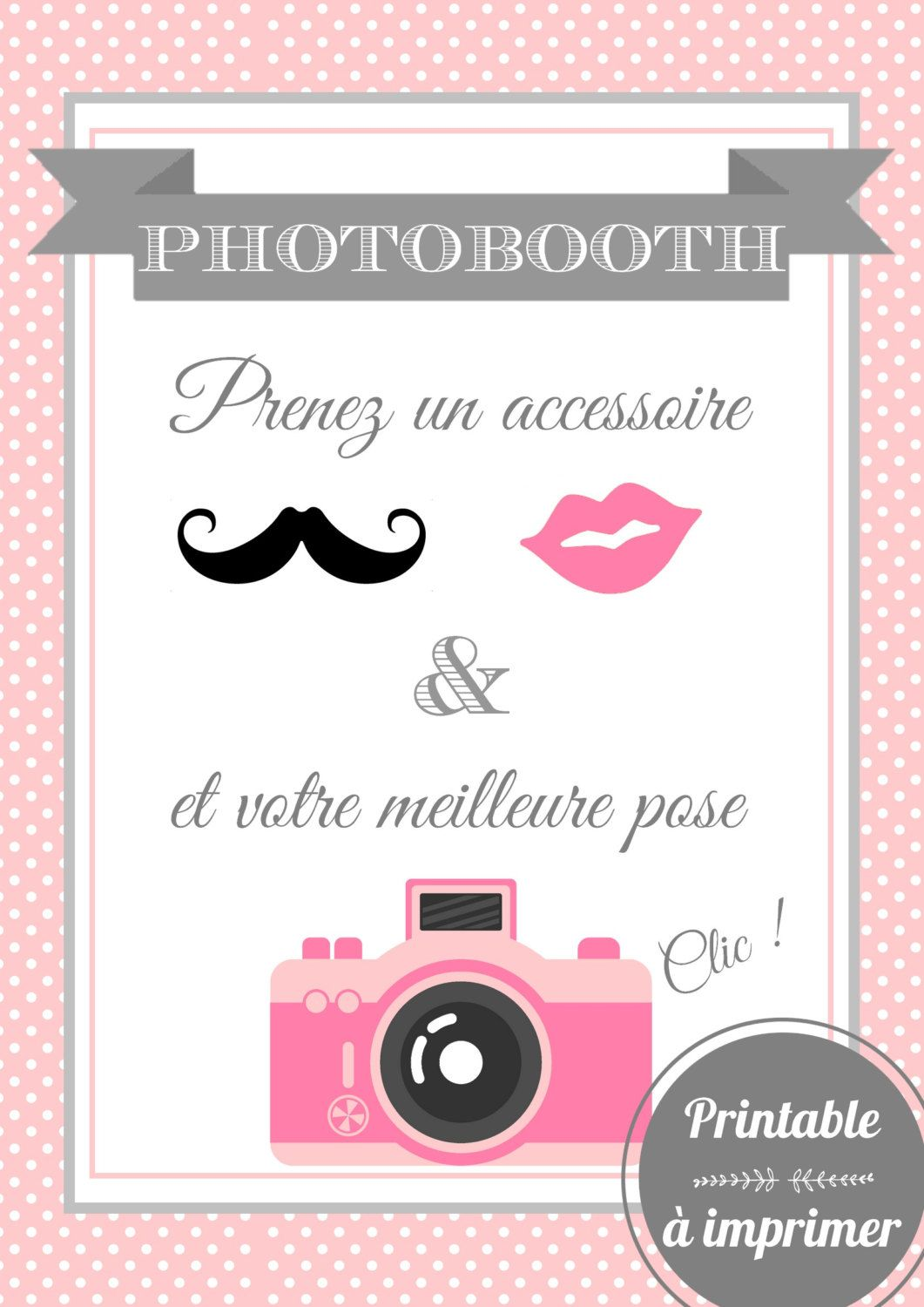 pancarte photobooth a telecharger tk84 jornalagora. Black Bedroom Furniture Sets. Home Design Ideas