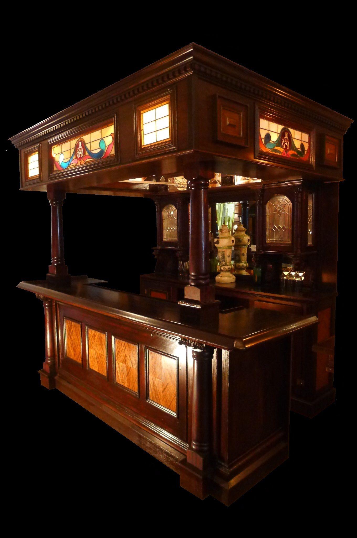 Canopy Pub Bars, Antique Bars, Antique Mantels, Antique Doors ...