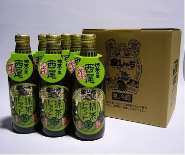 matcha beer from Nagoya brewery, Kinshachi