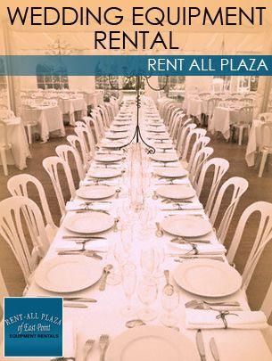 Wedding Equipment Rental