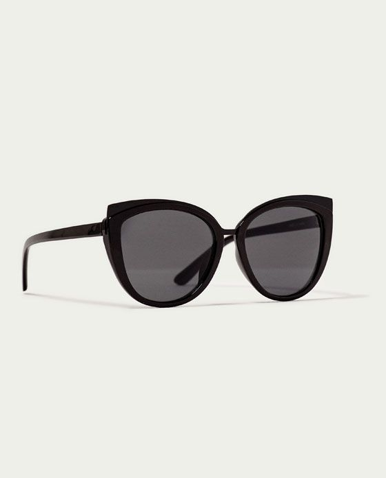 a798499adf ZARA - WOMAN - RESIN CAT'S-EYE SUNGLASSES Channel Sunglasses, Gafas Cat Eye,