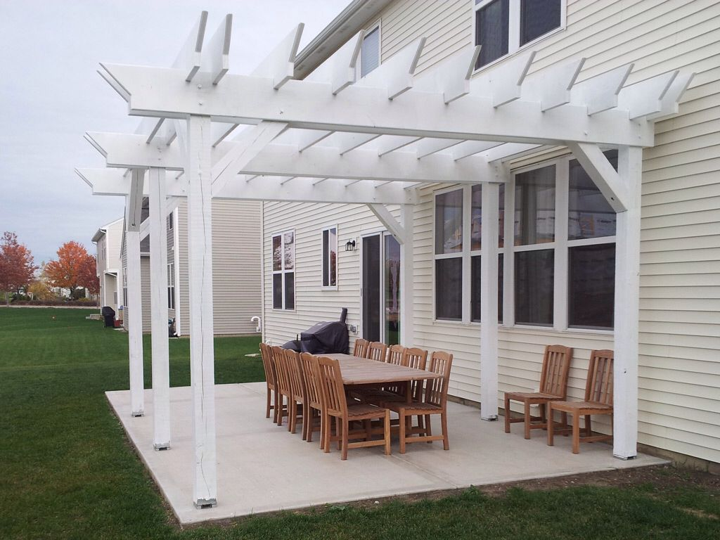 Build Pergola On Concrete Patio The very best Design - Pergola Arbors, Pergolas And Verandahs Pinterest Pergolas And
