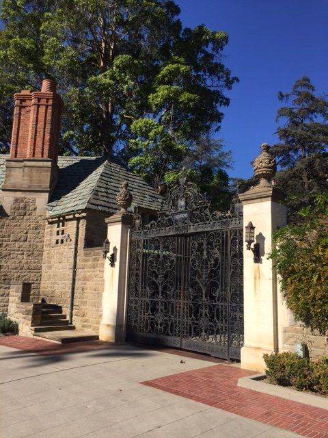 The Beautiful 1928 Greystone Mansion Serves As A Public Park For
