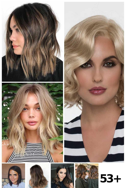 12 Bayalage Brunette Lob Ideen in 12  Brunette, Bob haircut