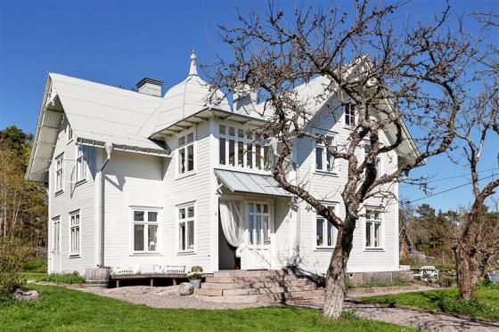 Nineteenth century summer house, Sweden.