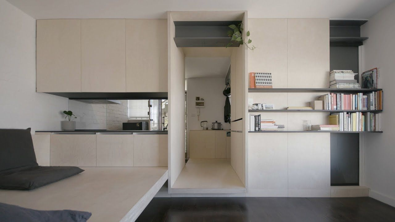 Never Too Small Ep 7 Micro Apartment Design George Youtube