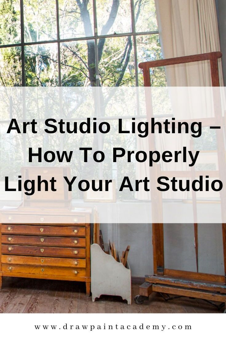 Art studio lighting how to properly light your art