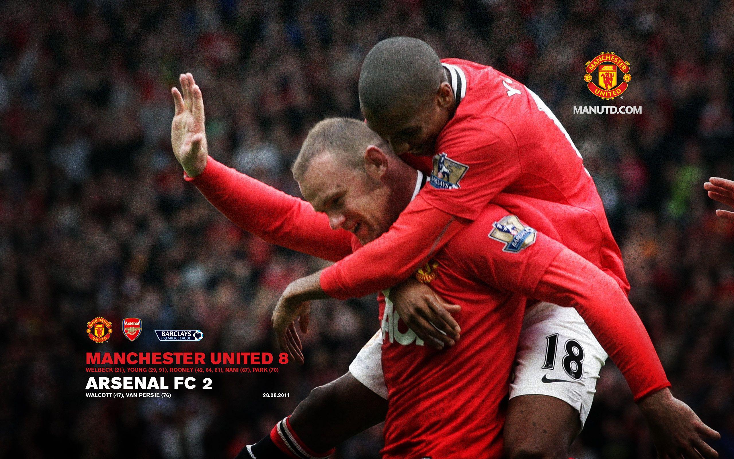 2011 8 28 Manchester United 8 2 Arsenal Manchester United Manchester United Football Club Manchester United Football