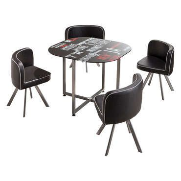 Nice Set 1 Table + 4 Chaises TOWN   Conforama Check More At Http:/