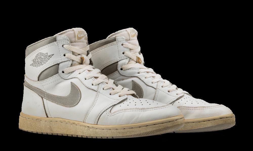 Air Jordan I OG White / Natural Grey
