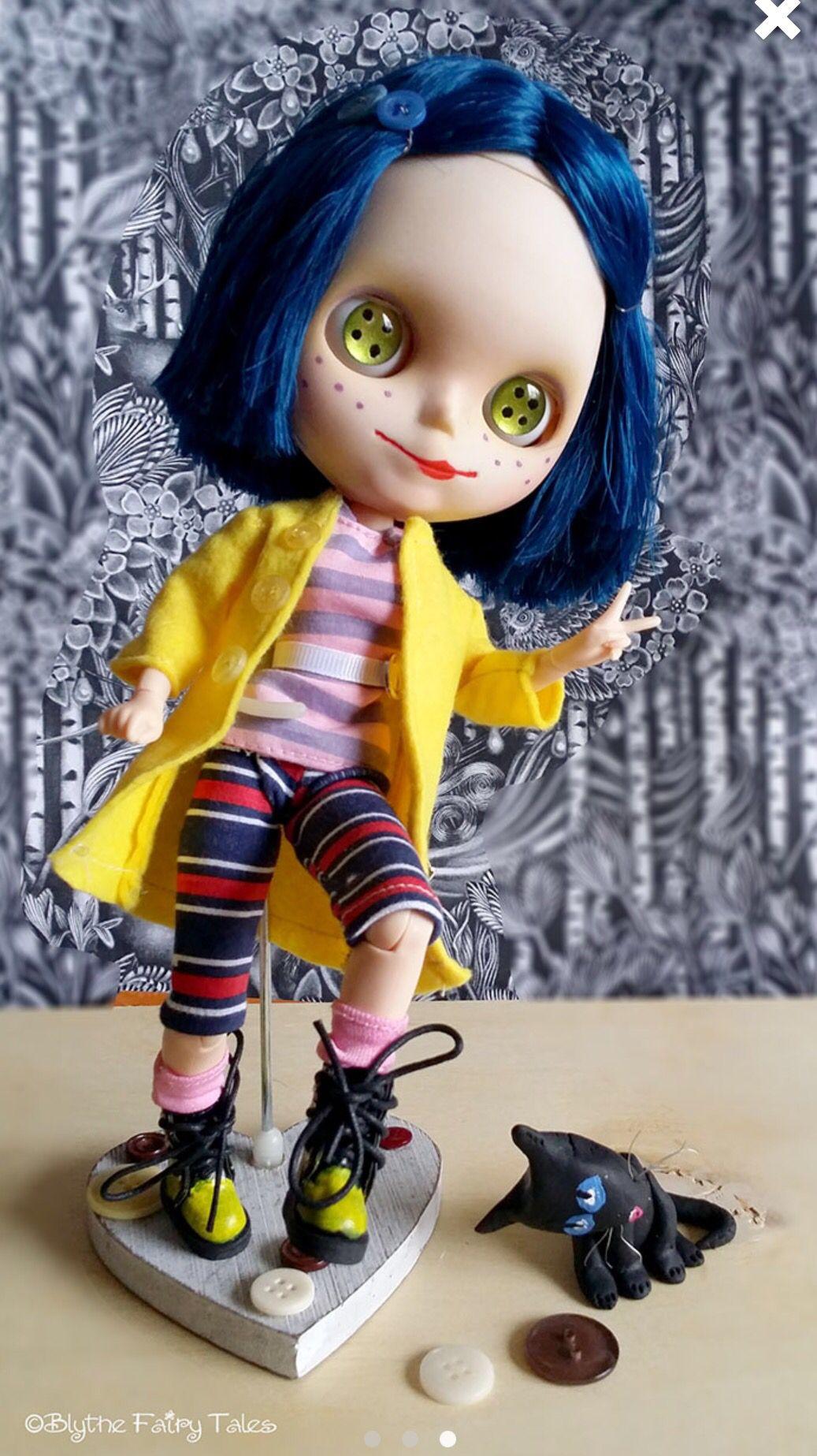 Coraline, caçulinha da minha coleção!!!
