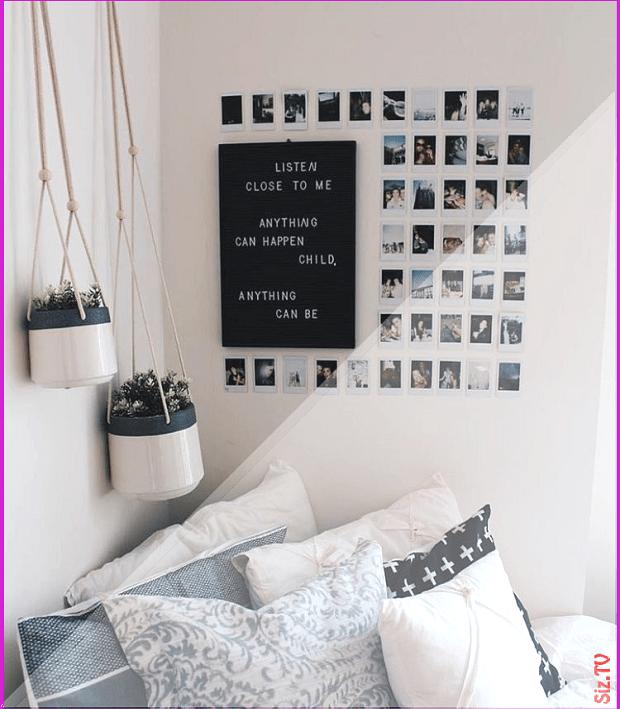 Tumblr Room Bedroom Desk Minimalist Minimalism Aesthetic White Black Dream Roo Aesthe Aesthe Aesthetic Be In 2020 Dorm Room Diy Dorm Diy Elegant Dorm Room