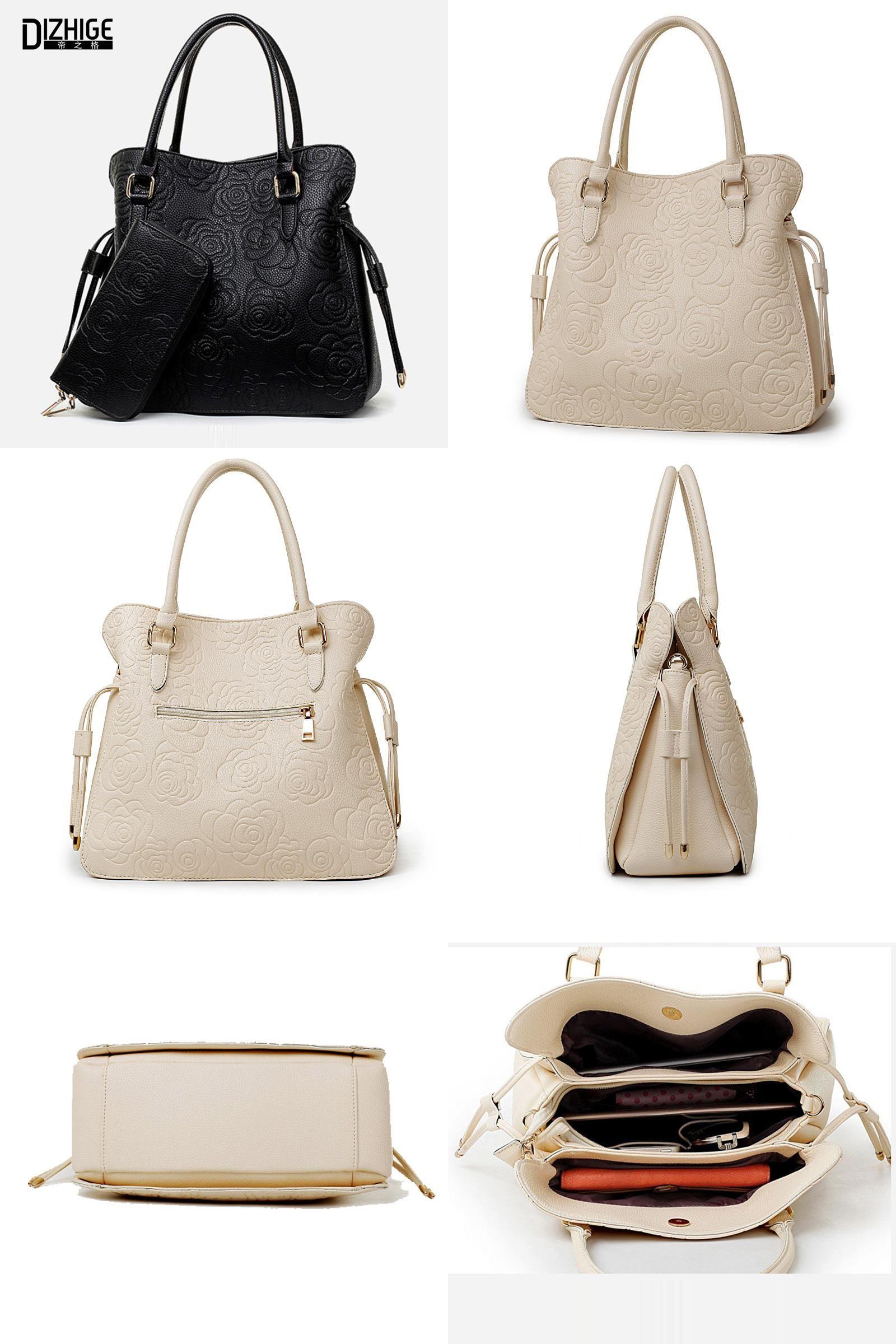 [Visit to Buy] Print Rose PU Leather Bags For Women Handbags Designer Purses And Handbags Ladies Shoulder Bag Luxury Hand Bag Feminina Sac #Advertisement