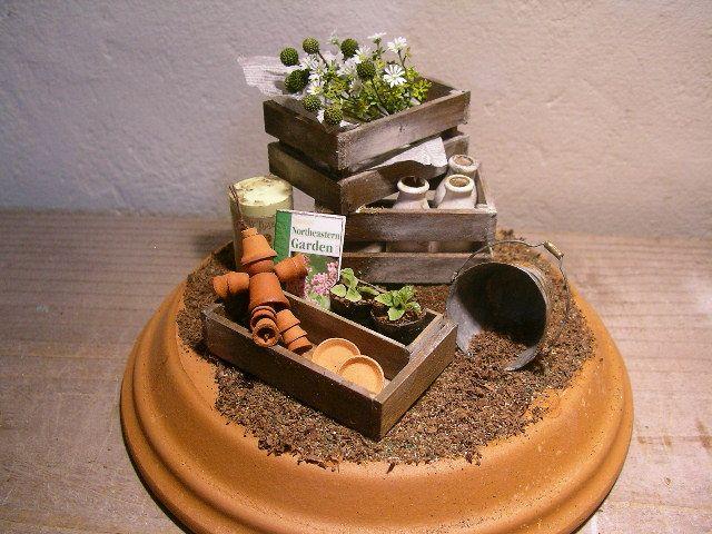 miniature garden tools. miniature garden tools   Miniature Gardens   Pinterest   Gardens