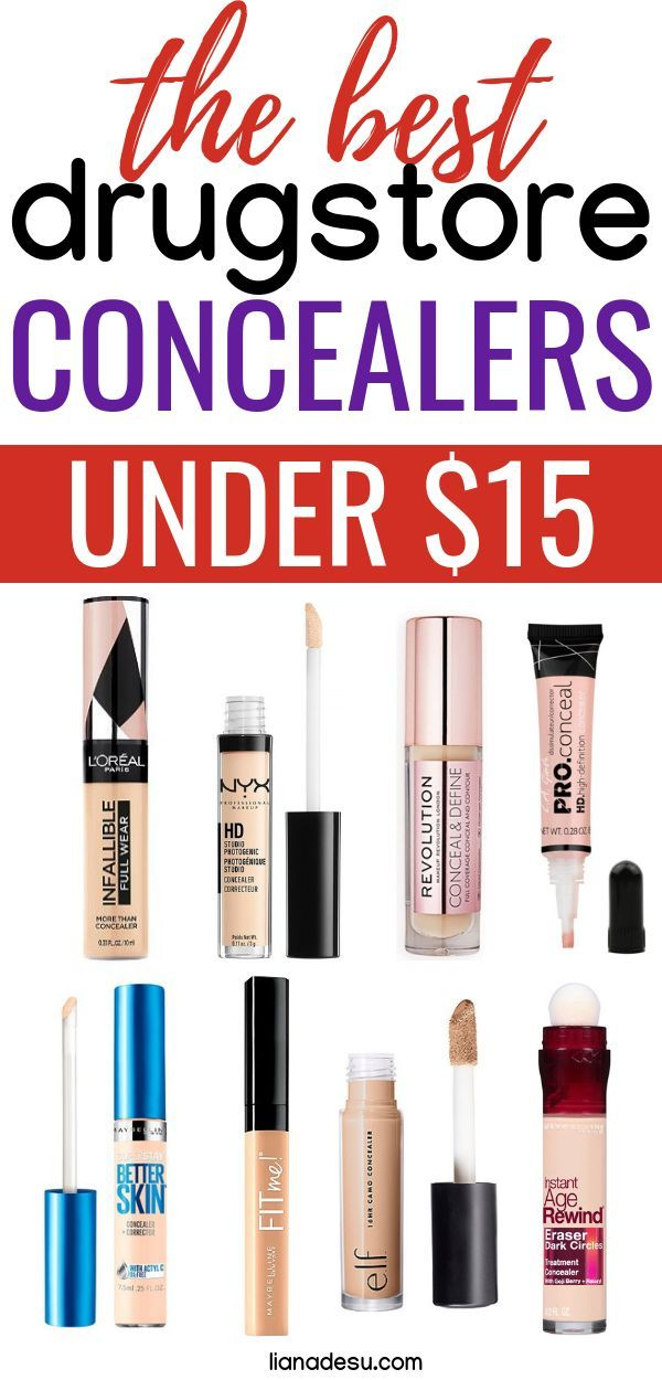 10 Best Drugstore Concealers to Cover Anything! - liana desu