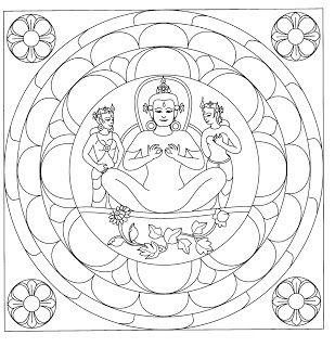 j benson coloring pages | Mandalas Para Pintar: Diosa de la paz interior - Projecten ...