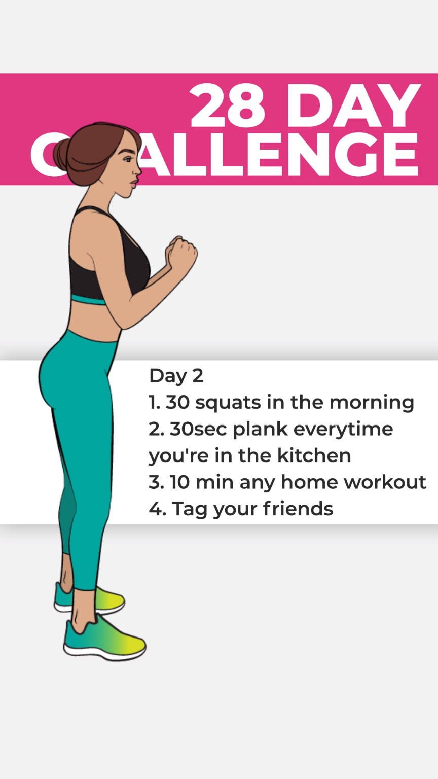 Get Ultimate 28 Days Meal & Workout Plan! Click to