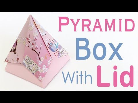 Simple Origami For Kids - Box With Lid - YouTube | 360x480