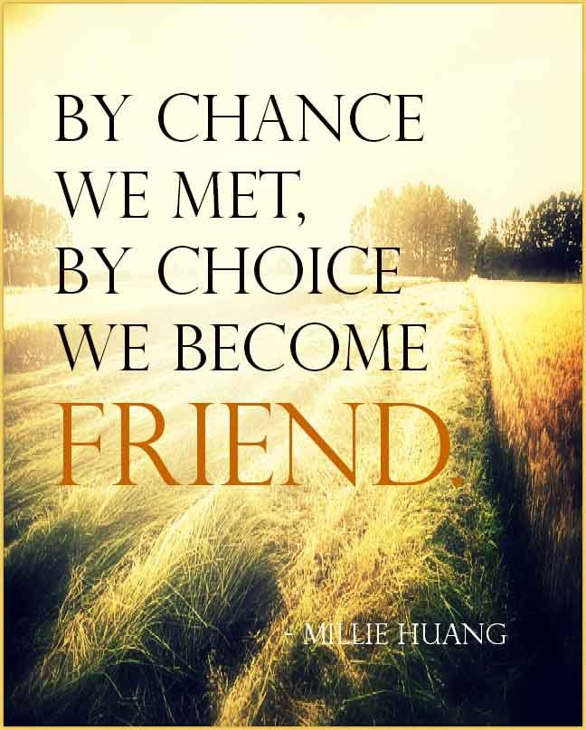 Friendships Quotes And Sayings: New Friendship Quotes With Image