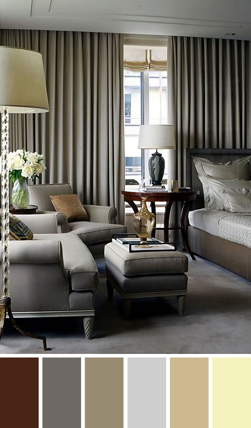 25 Gorgeous Living Room Color Schemes To Make Your Room Cozy Living Room Color Schemes Living Room Color Black Living Room Cozy living room colors