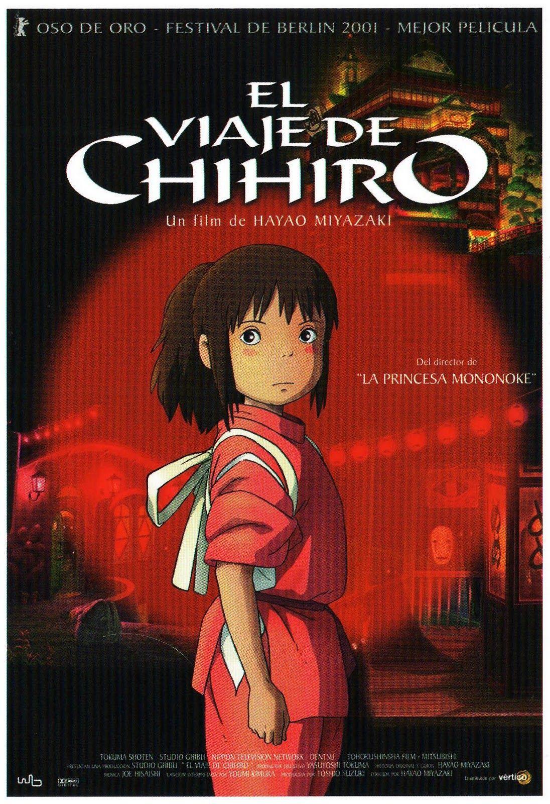 El viaje de Chihiro Anime movies, Spirited away movie