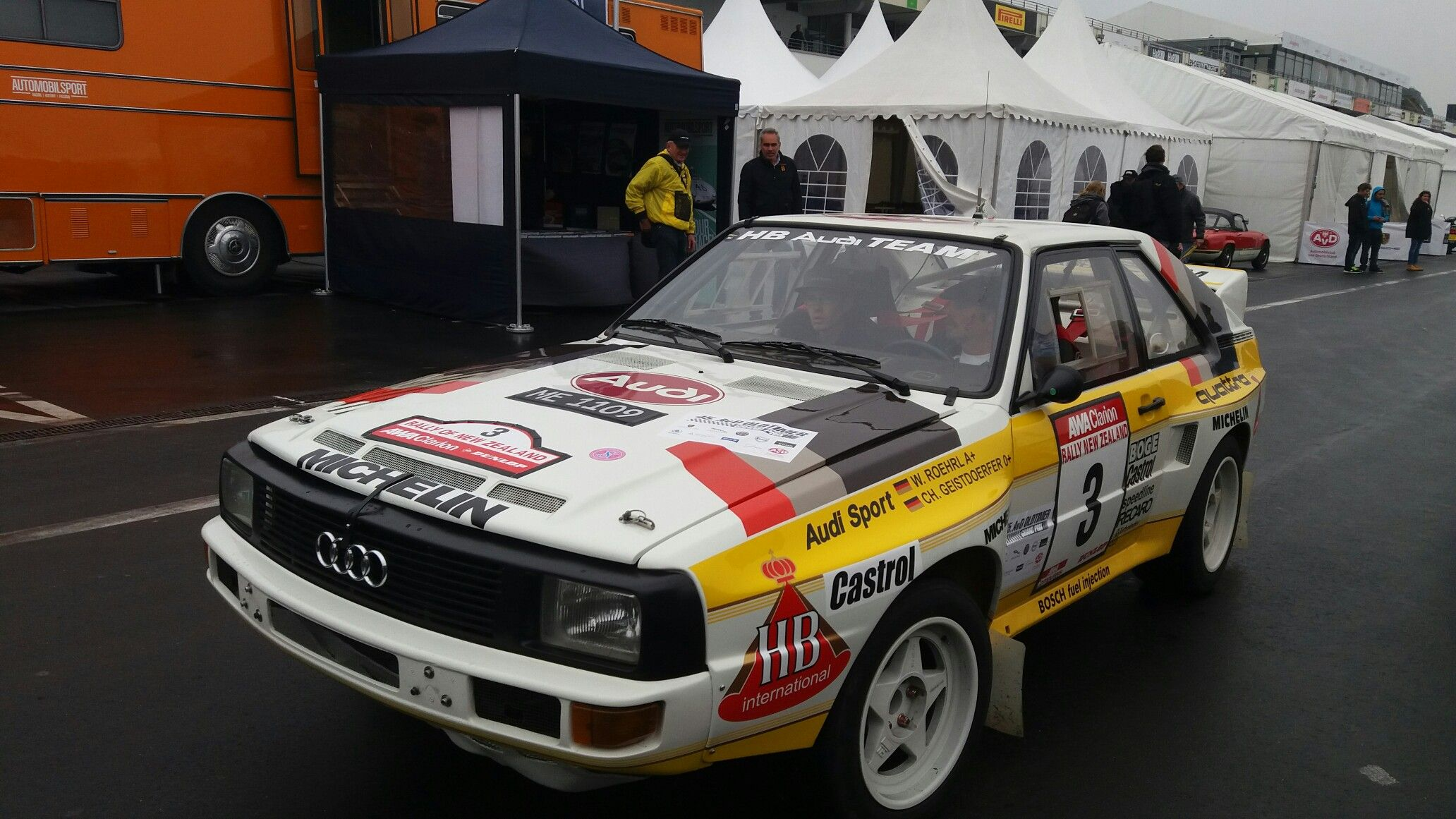 Audi Sport Quattro Rally New Zealand / Histo Cup Nürburgring 2017