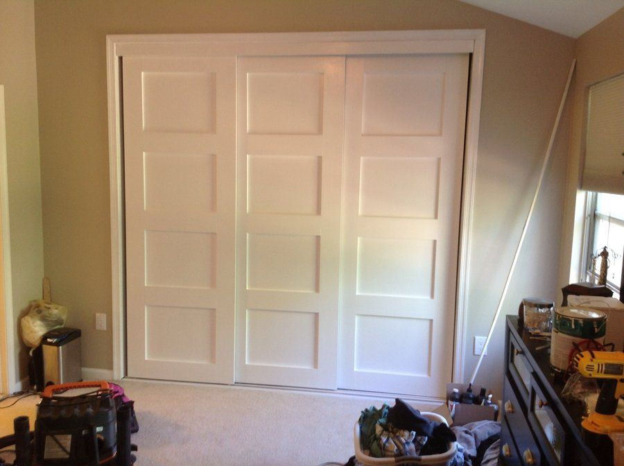 New Closet Doors By Tsdahc Lumberjocks Woodworking