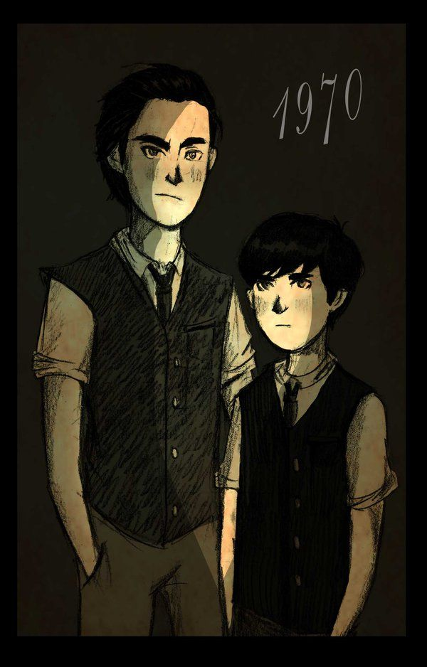 Sirius and Regulus Black IamnotAlyanna.deviantart.com | harry potter ...