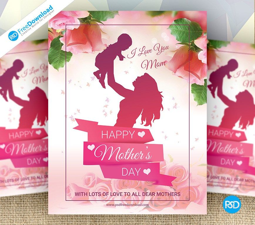 A Large Sized Free MotherS Day Psd Flyer Template Psd Download