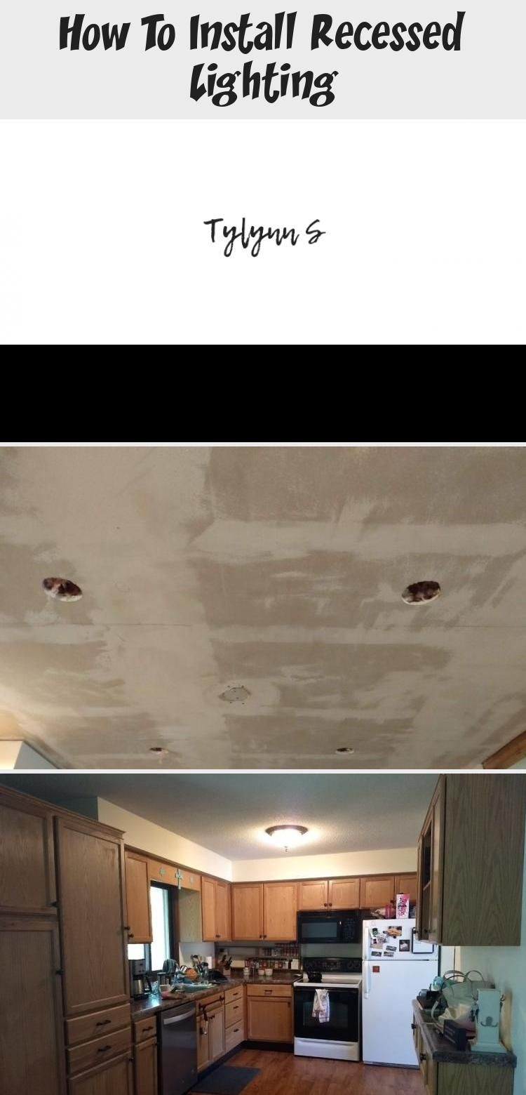 How to Install Recessed Lighting. Add can lights to your ...