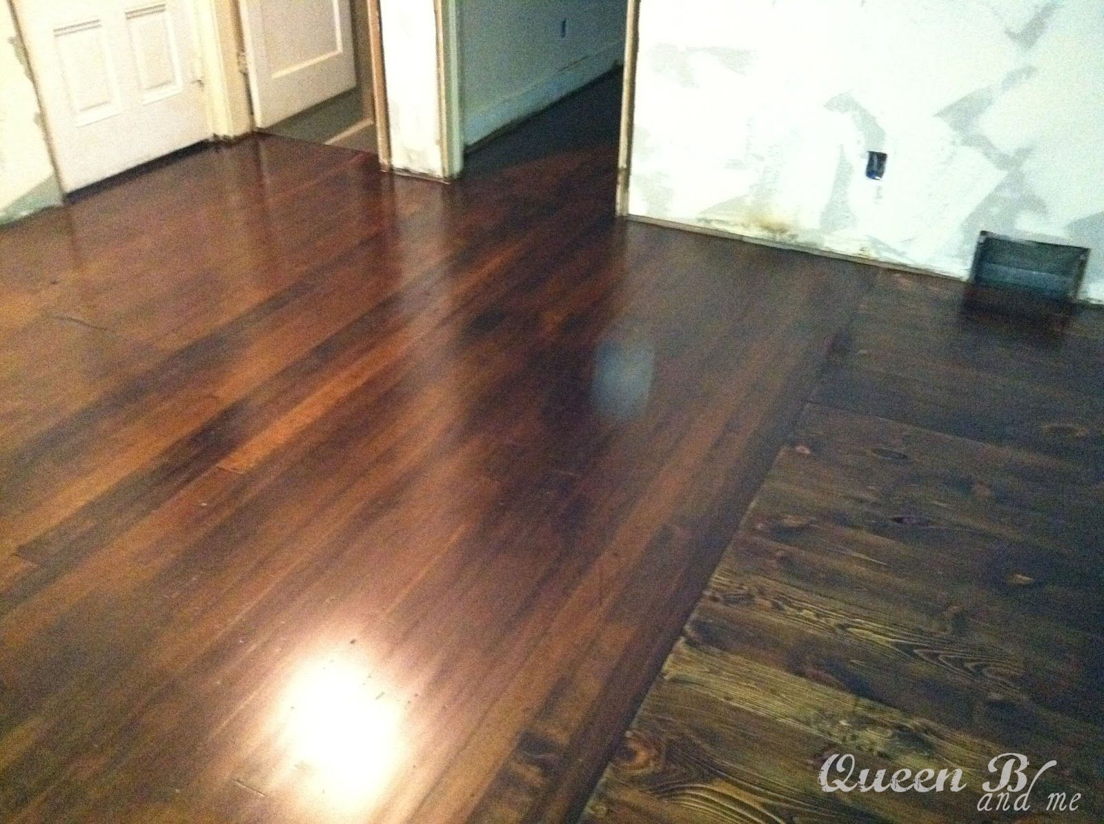 I am back again with another diy project so roll up those for Wood floor refinishing