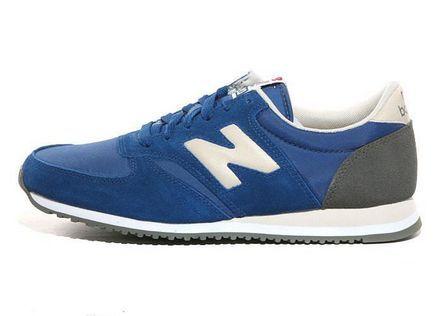 New Balance U420KW Blue White Grey men shoes | New balance ...