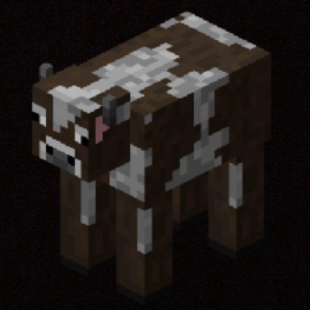 Cow In Minecraft Minecraft Bedroom Decor Minecraft Mobs Minecraft Pictures